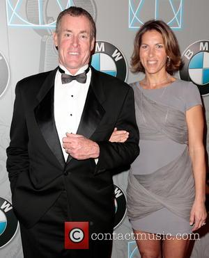 John C. McGinley and Nichole McGinley - Art Directors Guild Awards Beverly Hills California United States Saturday 2nd February 2013