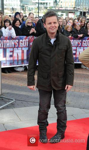 Declan Donnelly - The judges and hosts of 'Britains Got Talent' arrive at the Lowery Theatre Manchester Manchester United Kingdom...