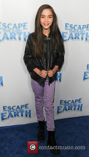Girl Meets World Actress Rowan Blanchard - Escape From Planet Earth Premiere