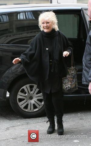 Petula Clark - Petula Clark arriving at Radio 2 for The Graham Norton Show London United Kingdom Saturday 2nd February...