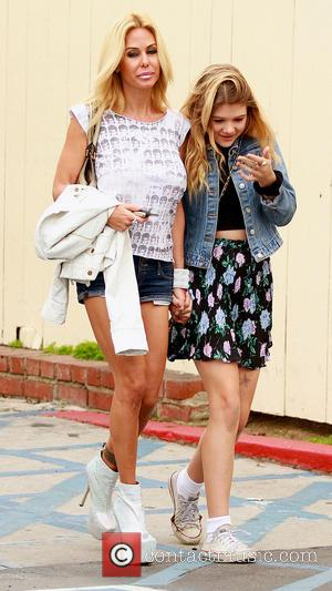 Shauna Sand and Alexandra Lamas - Shauna Sand With Daughters Los Angeles California United States Saturday 2nd February 2013