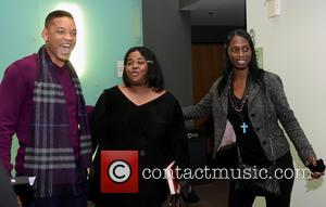 Will Smith and Sister Souljah aka Lisa Williamson - Sister Souljah And Will Smith Philadelphia Pennsylvania  United States Saturday...