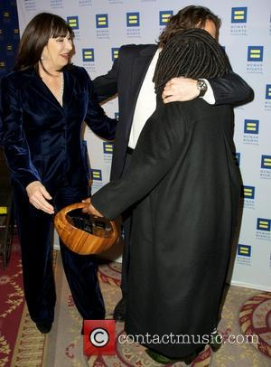 Anjelica Huston and Whoopi Goldberg - Human Rights Campaign Greater New York Gala Dinner New York NY United Kingdom Saturday...