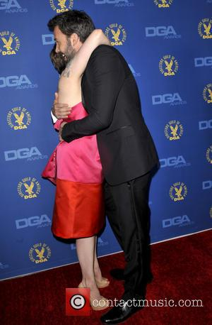 Lena Dunham and Ben Affleck