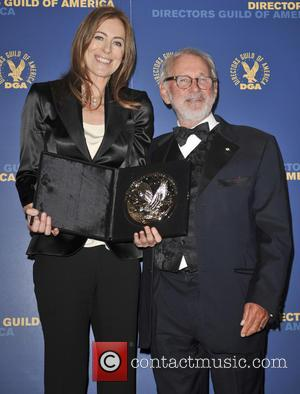 Kathryn Bigelow and Norman Jewison - 65th Annual Directors Guild Of America Awards (DAG) Los Angeles California United States Saturday...