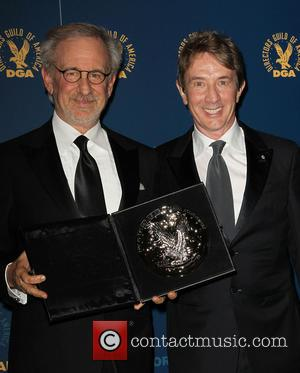 Steven Spielberg and Martin Short - 65th Annual Directors Guild Of America Awards (DAG) Hollywood California USA Saturday 2nd February...