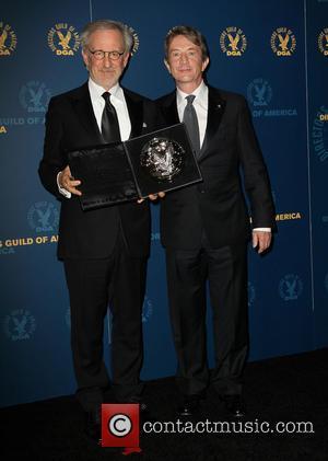 Steven Spielberg and Martin Short