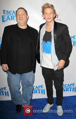 Harvey Weinstein and Cody Simpson