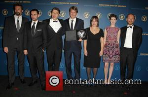 Hugh Jackman, Tom Hooper, Anne Hathaway and Guests