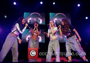 Little Mix Performing and Liverpool Echo Arena