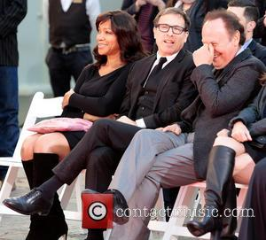 Grace Hightower, director David O. Russell and and Billy Crystal - Robert De Niro places his hand and foot prints...