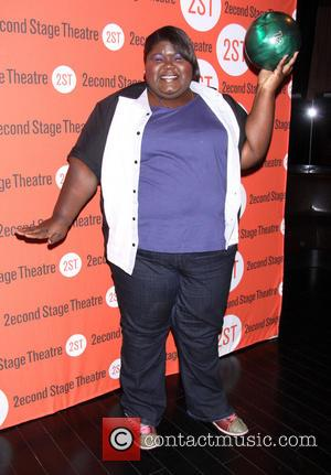 Gabourey Sidibe - Second Stage Theatre's 26th Annual Bowling Classic held at Lucky Strike Lanes - Arrivals New York City...