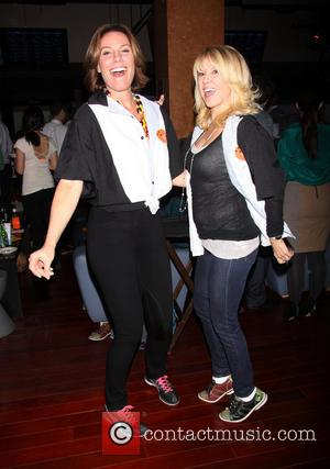 Countess LuAnn de Lesseps and Ramona Singer - Second Stage Theatre's 26th Annual Bowling Classic held at Lucky Strike Lanes...