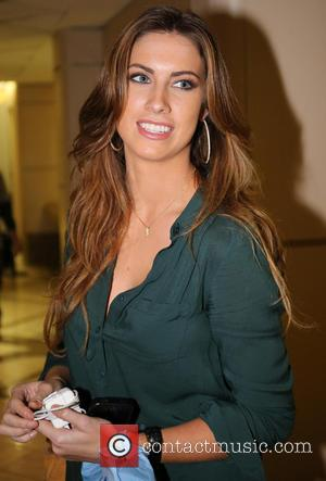 Katherine Webb - Celebrities arrive at LAX airport Los Angeles California United States Monday 4th February 2013