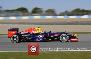 Mark Webber - Team Red Bull - Formula One - Testing at Jerez de la Frontera Jerez de la Frontera...