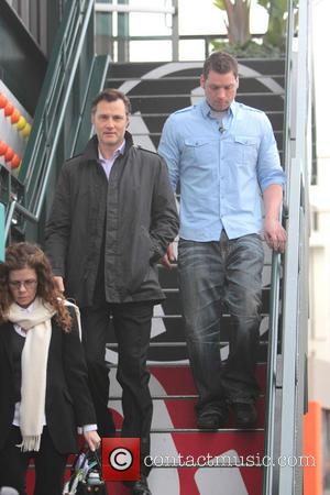 David Morrissey - Celebrity appearances at The Grove Hollywood California United States Tuesday 5th February 2013