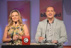 Victor Manuelle and Mercedes Molto - Latin Billboard Music Awards Nomination announcement Miami Florida United States Tuesday 5th February 2013