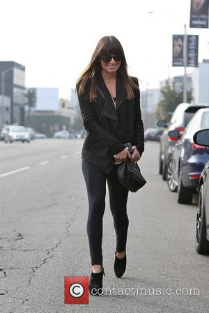 Lea Michele - Lea Michele exits the Warren Tricomi hair salon Los Angeles California United States Tuesday 5th February 2013