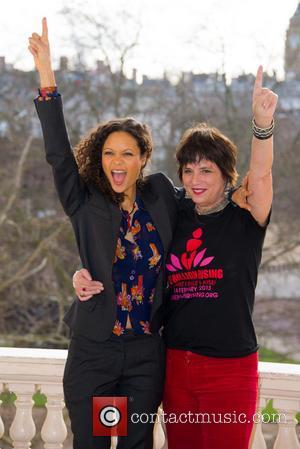 Thandie Newton and Eve Ensler