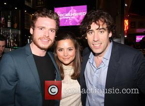 Richard Madden, Jenna Louise Coleman and Stephen Mangan - Annual fundraising gala for the Chickenshed London United Kingdom Tuesday 5th...