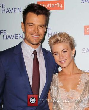 Josh Duhamel and Julianne Hough - Premiere Of Relativity Media's 'Safe Haven' Hollywood California United States Tuesday 5th February 2013