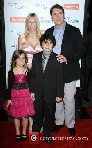 Nicholas Sparks, Mimi Kirkland and Noah Lomax - Premiere Of Relativity Media's 'Safe Haven' held at TCL Chinese Theatre -...