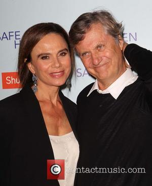 Lena Olin and Lasse Hallstrom - Premiere Of Relativity Media's 'Safe Haven' Hollywood California United States Tuesday 5th February 2013