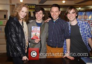 Jan Maxwell, Henry Hodges, Tim Federle and Michael Herwitz