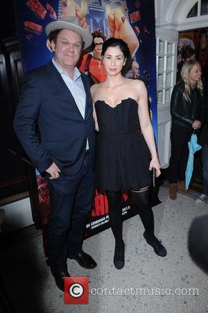John C. Reilly and Sarah Silverman - VIP screening of 'Wreck It Ralph' London  United Kingdom Tuesday 5th February...