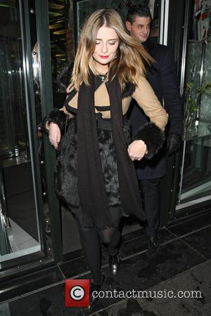 Mischa Barton - Celebrities leaving the Ivy Club London United Kingdom Wednesday 6th February 2013