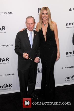 Heidi Klum and Michael Bloomberg