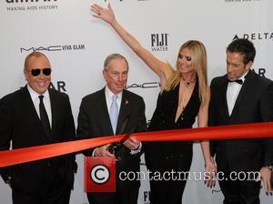 Heidi Klum, Michael Bloomberg, Michael Kors and Kenneth Cole