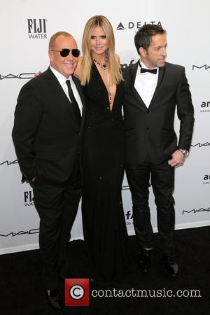 Heidi Klum, Michael Kors and Kenneth Cole