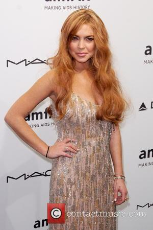 Lindsay Lohan - amfAR gala New York City  New York  United States Wednesday 6th February 2013