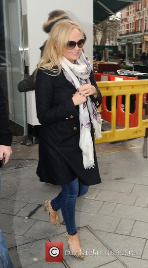 Emma Bunton Follows Halliwell Onto London's Underground