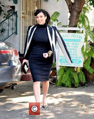 Kim Kardashian - Kim Kardashian seen out and about