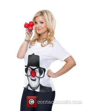 Helen Skelton - Celebrities join a host of famous faces to model this year's Dinosaur Red Nose and Comic Relief...