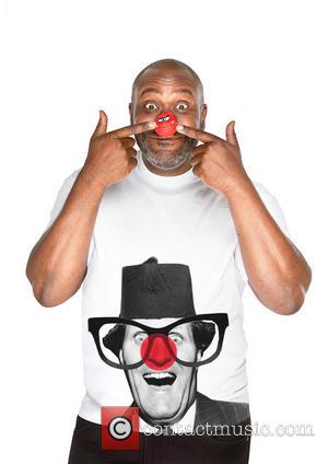 Lenny Henry - Celebrities join a host of famous faces to model this year's Dinosaur Red Nose and Comic Relief...