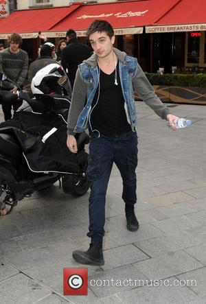 Tom Parker - The Wanted at Capital Radio London United Kingdom Wednesday 6th February 2013