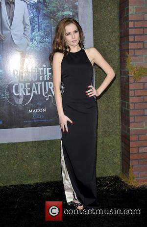 Zoey Deutch - Beautiful Creatures Los Angeles Premiere Los Angeles CA United States Wednesday 6th February 2013