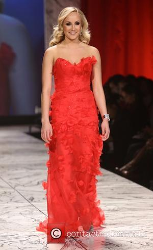 Nastia Liukin - The Heart Truth's Red Dress Collection - Runway New York City United States Wednesday 6th February 2013