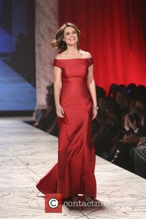 Savannah Guthrie - The Heart Truth's Red Dress Collection - Runway New York City United States Wednesday 6th February 2013