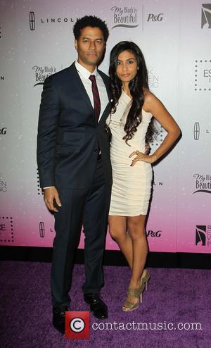 Eric Benet and Manuela Testolini