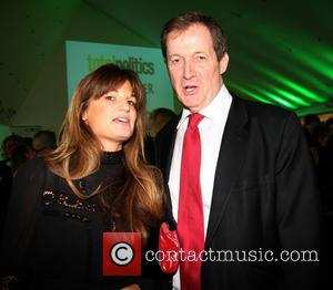 Jemima Khan and Alistair Campbell - The Paddy Power and Total Politics Political Book Awards London United Kingdom Wednesday 6th...