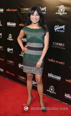 Karen David - Whole Planet Foundation Benefit Concert Los Angeles California United States Wednesday 6th February 2013