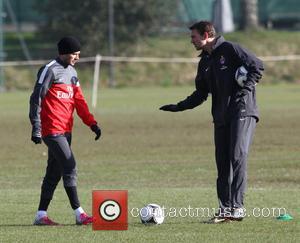 David Beckham - David Beckham football training London United Kingdom Thursday 7th February 2013