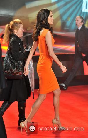 Emma Heming - A Good Day to Die Hard Premiere London United Kingdom Thursday 7th February 2013