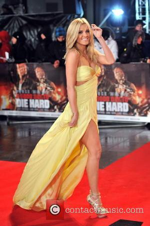 Ashley Roberts - 'A Good Day to Die Hard' UK Premiere London United Kingdom Thursday 7th February 2013