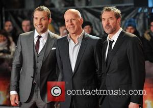 Jai Courtney, Bruce Willis and Sebastian Koch