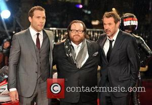 Jai Courtney, John Moore and Sebastian Koch